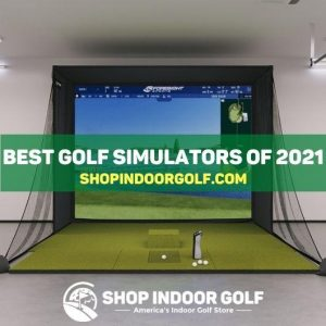 shop indoor golf ad